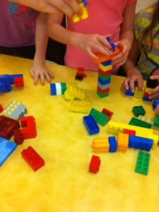 Building with Duplo
