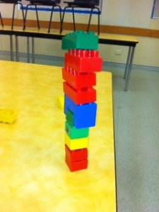 Duplo tower