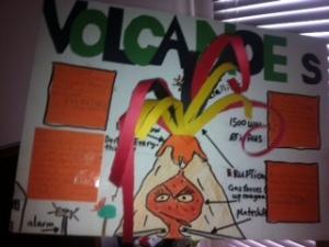 volcanoes poster