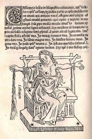 "Poseidon's punishment: Cassiopea as a constellation sitting in the heavens tied to a chair. Hyginus, Poeticon Astronomicon. ""U.S. Naval Observatory Library"""