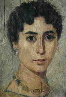 Hypatia of Alexandria was the daughter of the mathematician Theon Alexondricus. She worked in the famed Library at Alexandria and became head of the Platonist school at Alexandria. She used astrolabes to locate and track the movement of the stars, and produced a detailed table of her observations. Sailors used the astrolabe and her tables for navigation for the next 1200 years. We have no pictures of Hypatia but this is a picture in the British Museum showing an Egyptian woman from around the fourth century BC.